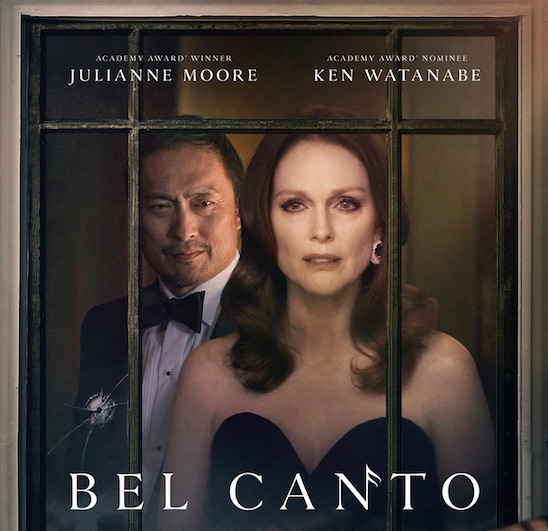 """Bel Canto"" - cinematography by Tobias Datum will hit movie theatres in the US on September 14"