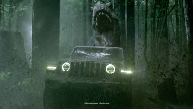 Jeep Jurassic World  (New Car Range)