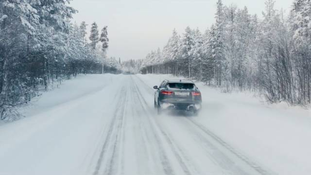 Jaguar F-Pace X - Hunting Northern Lights